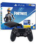 Sony Playstation 4 Slim 500 GB - Fortnite Neo Versa Set inkl. 2 Controller Jet Black (Sony)
