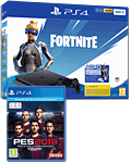 Sony Playstation 4 Slim 500 GB - Fortnite Neo Versa Set (ab 26.11.19 inkl. gratis PES 2018)