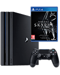 Sony Playstation 4 Pro 1 TB - Skyrim Set (Sony) (Playstation 4)