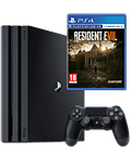 Sony Playstation 4 Pro 1 TB - Resident Evil 7 Set (Sony)