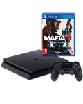 Sony Playstation 4 Slim 500 GB - Mafia 3 Set -Black- (Sony)