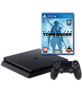 Sony Playstation 4 Slim 500 GB - Rise of the Tomb Raider Set -Black- (Sony)
