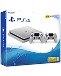 Sony Playstation 4 Slim 500 GB - Dualshock Set -Silver- (Sony)