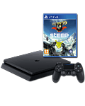 Sony Playstation 4 Slim 500 GB - Steep Set -Black- (Sony) (Playstation 4)