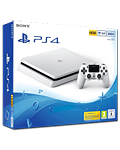 Sony Playstation 4 Slim 500 GB - White- (Sony)