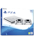 Sony Playstation 4 Slim 500 GB - Dualshock Set -White- (Sony)