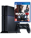 Sony Playstation 4 PAL 500 GB - Mafia 3 Set -Black- (Sony)