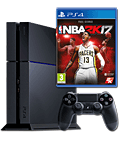 Sony Playstation 4 PAL 500 GB - NBA 2K17 Set -Black- (Sony)
