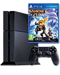 Sony Playstation 4 PAL 500 GB - Ratchet & Clank Set -Black- (Sony)