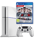 Sony Playstation 4 PAL 500 GB - F1 2016 Set -White- (Sony)