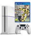 Sony Playstation 4 PAL 500 GB - FIFA 17 Set -White- (Sony)