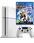 Sony Playstation 4 PAL 500 GB - Ratchet & Clank Set -White- (Sony)