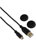 USB Charging Cable Soft -Black- (Hama)