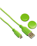 USB Charging Cable Soft -Green- (Hama) (Playstation 4)