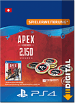 Apex Legends: 2'150 Apex Coins (PlayStation 4-Digital)