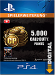 Call of Duty: Black Ops 3 - 5'000 Call of Duty Points (Playstation 4-Digital)