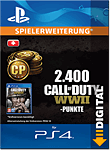 Call of Duty: WWII - 2'400 Call of Duty Points (Playstation 4-Digital)