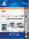 Destiny 2: 1000 Silber (Playstation 4-Digital)