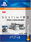 Destiny 2: 2000 Silber (Playstation 4-Digital)