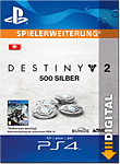 Destiny 2: 500 Silber (Playstation 4-Digital)