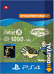 Fallout 76: 1000 (+100) Atoms (Playstation 4-Digital)