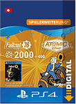 Fallout 76: 2000 (+400) Atoms (Playstation 4-Digital)