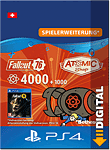 Fallout 76: 4000 (+1000) Atoms (Playstation 4-Digital)