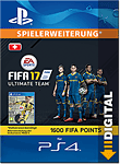FIFA 17 Ultimate Team: 1600 Points (Playstation 4-Digital)