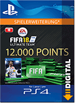 FIFA 18 Ultimate Team: 12000 Points (Playstation 4-Digital)