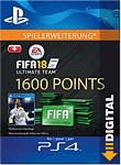 FIFA 18 Ultimate Team: 1600 Points (Playstation 4-Digital)