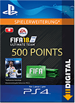 FIFA 18 Ultimate Team: 500 Points (Playstation 4-Digital)