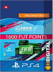 FIFA 19 Ultimate Team: 1600 Points (Playstation 4-Digital)