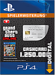 Grand Theft Auto 5: Great White Shark 1'250'000 Cash Card (Playstation 4-Digital)