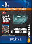 Grand Theft Auto 5: Megalodon Shark 8'000'000 Cash Card