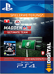 Madden NFL 18 Ultimate Team: 2200 Madden Points (Playstation 4-Digital)