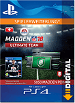 Madden NFL 18 Ultimate Team: 5850 Madden Points (Playstation 4-Digital)