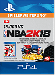 NBA 2K18: 15'000 VC (Playstation 4-Digital)