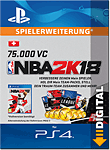 NBA 2K18: 75'000 VC (Playstation 4-Digital)