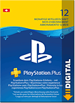 Playstation Plus Abonnement - 12 Monate (Sony)