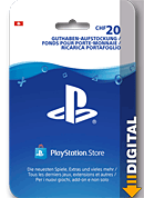 Playstation Store Guthaben CHF 20.-- (Sony) (Playstation 4-Digital)
