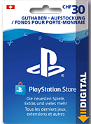 Playstation Store Guthaben CHF 30.-- (Sony) (Playstation 4-Digital)