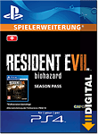 Resident Evil 7: Biohazard - Season Pass (Playstation 4-Digital)
