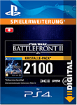Star Wars: Battlefront 2 - 2100 Crystals (Playstation 4-Digital)