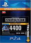 Star Wars: Battlefront 2 - 4400 Crystals (Playstation 4-Digital)