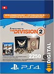The Division 2: 2250 Premium Credits (Playstation 4-Digital)