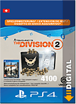 The Division 2: 4100 Premium Credits (Playstation 4-Digital)