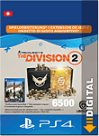 The Division 2: 6500 Premium Credits (Playstation 4-Digital)