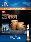 The Division: 2400 Premium Credits (Playstation 4-Digital)