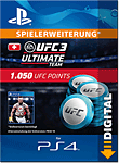 UFC 3: 1050 UFC Points (Playstation 4-Digital)
