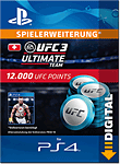 UFC 3: 12000 UFC Points (Playstation 4-Digital)
